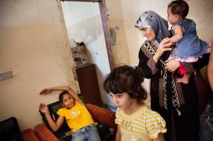 Flygtningefamilie