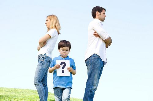 Forældrenes konflikter