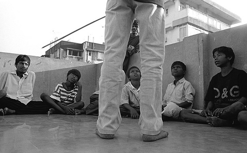 Fysisk afstraffelse af børn