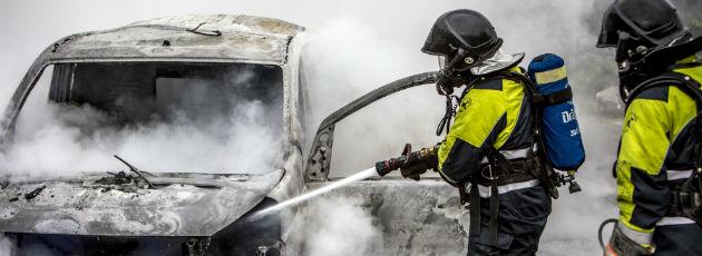 Bilbrand i Vallensbæk