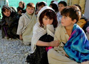 Flygtningebørn