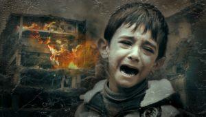 Børns udtryk for smerte