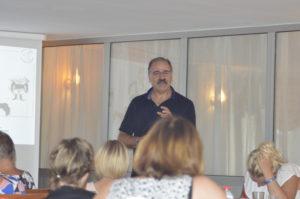 Ahmet Demir. Foredragsholdere