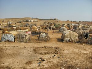 Flygtningelejren